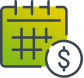 Monthly deposit icon