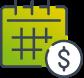 Monthly deposit icon